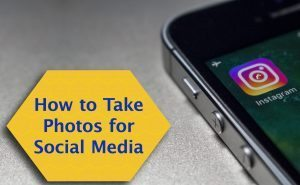 how to take photos for social media FeaturedImage