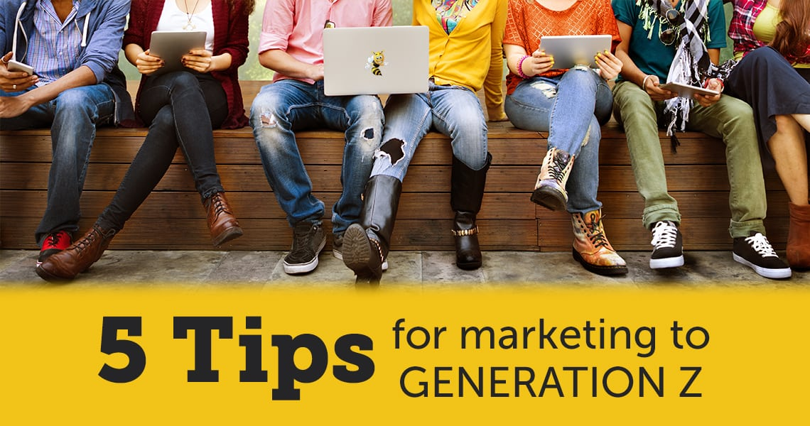 5 Tips for Marketing to Generation Z header image