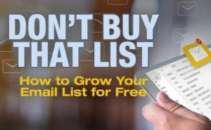 How to Grow Your Email List for Free featured image