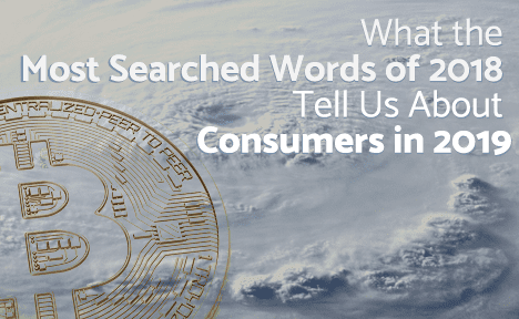What the Most Searched Words of 2018 Tell Us About Consumers in 2019