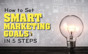 How to Set SMART Marketing Goals in 5 Steps featured