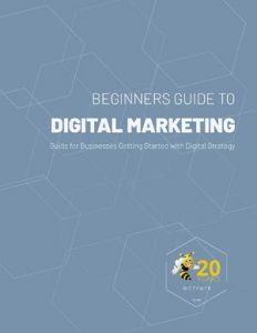 cover of the digital marketing 2021 guide